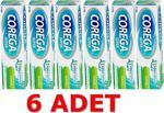 Corega Super Naneli 40 Gr 6 Adet Diş Protezi Yapıştırıcı Krem