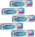 Corega Super Tat İçermez 40 Gr 5 Adet Diş Protezi Yapıştırıcı Krem