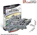 Cubic Fun 3d 60 Parça Puzzle Charles De Gaulle Uçak Gemisi