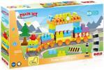 Dolu 5082 Toys Tren Seti 89 Parça