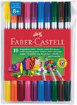Faber-Castell 10'lu Çift Uçlu Keçeli Kalem Boya