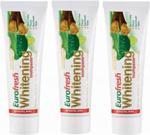 Farmasi Eurofresh Whitening Aloe Veralı Misvaklı 112 gr x3 Adet Diş Macunu