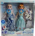 Frozen Elsa Anna 2 Li Sesli Oyuncak Bebekler