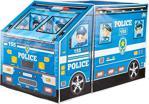 Furkan Polis Otobüsü Çocuk Oyun Çadırı Pencereli Büyük Boy