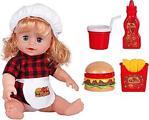 Galtoys Maide Burger Yiyor Türkçe Konuşan Bebek 1105