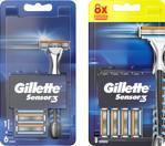 Gillette Sensor3 Tıraş Makinesi + 14'Lü Yedek Tıraş Bıçağı