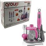 Group GR2600 Paslanmaz Çelik Bıçaklı Doğrayıcı Blender Seti Rondo