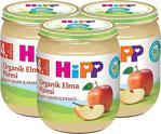 Hipp Organik Elma Püresi 125 Gr 3\'lü Kavanoz Maması
