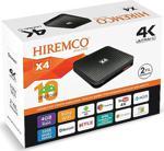 Hiremco Android X4 Ultra Hd 4K Tv Box - 4 Gb Ram / 32 Gb Hafıza - Google Lisanslı
