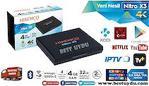 HİREMCO NİTRO X3 UHD Android Tv Box KABLOSUZ MOUSE HEDİYE