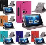 """Huawei Mediapad T5 10.1"""" Dönerli Standlı Deri Tablet Kılıfı"""