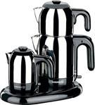 Korkmaz A353 Mia Siyah Inox Çay Kahve Makinesi