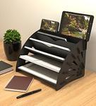 Kuk Design Delcia Pratik Ve Modern Masaüstü Organizer Düzenleyici A4 Evrak Rafı