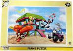 Laço Kids Masha Koca Ayı 48 Parça Frame Puzzle