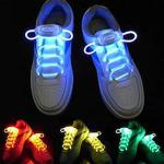 LED Işıklı Renkli Ayakkabı Bağcık Parti Disko Ayakkabı Bağcığı