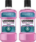 Listerine Total Care Zero Hafif Nane Alkolsüz 500 ml 2 Adet Gargara