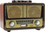 Meier M-112BT Şarjlı USB-SD-MP3 Destekli Bluetooth Nostaljik Radyo