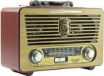 Meier M-115BT USB-SD-MP3 Destekli Bluetooth Şarjlı Nostaljik Radyo