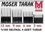 Moser Traş Makinesi 1,2,3,4 Mumaralı Tarak