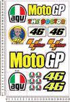 Motgp The Doctor Agv Sticker Set