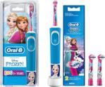Oral-B D100 Çocuklar Için Şarjlı Diş Fırçası Frozen+2'li Yedek Başlık
