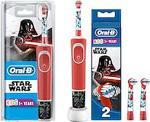 Oral-B D100 Star Wars Özel Seri + 2'li Yedek Başlıklı Çocuklar İçin Şarj Edilebilir Diş Fırçası