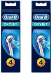 Oral-B ED17-4 Oxyjet 4'lü Paket 2 Adet Diş Fırçası Yedek Başlığı