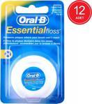 Oral-B Essential Floss Mumsuz Diş İpi 50 M X 12 Paket