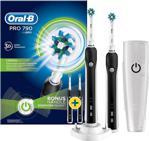 Oral-B Pro 790 Limited Edition Siyah 2'li Şarjlı Diş Fırçası