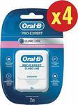 Oral-B Pro-Expert Clinic Line 25 Mt X4 Adet Diş İpi