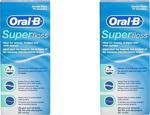 Oral-B Super Floss 50'Li 2 Adet Diş İpi