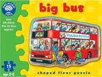 Orchard Toys 249 Büyük Otobüs 2-5 Yaş 15 Parça Çocuk Puzzle