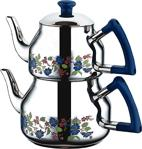 Özkent K-318 Marmaris Mega Desenli Çaydanlık