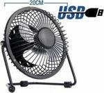 Piranha Vantilatör Metal Masaüstü Usb Fan 20 Cm