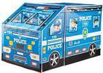 Polis Otobüsü Çocuk Oyun Çadırı Pencereli Büyük Boy