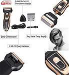 PROFESYONEL Traş Makinesi Saç Sakal Tıraş Makinası Ense Kesme