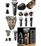 Şarjlı Saç Sakal Traş Makinesi Burun Kılı Alma 3 Başlıklı Set