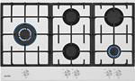 Simfer 3916 Wok Gözlü 90 cm Beyaz Cam Ankastre Ocak