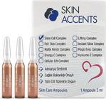 Skin Accents 3 Adet Kök Hücre Ampul Alman Serum Dermaroller Dermapen Cilt Bakım Serumu