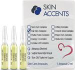 Skin Accents 3 Adet Leke Açıcı Ampul Alman Serum Dermaroller Dermapen Cilt Bakım Serumu