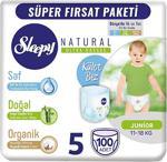 Sleepy Natural 5 Numara Junior 100'lü Külot Bez