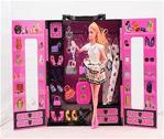 Sonsuz Hareket Bebekli Barbie Gardrobu - Çantalı Giysi Dolabı, 30+ Kıyafet...