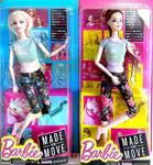 Sonsuz Hareket Tarzı Barbie Bebek