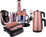 Stilevs Rosy Premium Serisi 4'lü Çeyiz Paketi