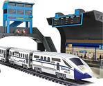 Suncon Işıklı 244 Cm Oyuncak Hız Treni Ve İstasyon Oyun Seti