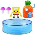 Sünger Bob Oyun Seti - Oyuncak Yüzen Sünger Bob