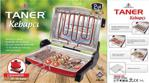 Taner Mini Kebapçı Elektrikli Izgara Barbekü 32x24cm Kırmızı