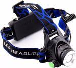 Techmaster 1800 Lümen Şarjlı Led Kafa Lambası Fenere Çalışma Tamir Lambası