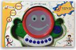 Uj Toys Işıklı Müzikli Notalı Eğlenceli Neşeli Pilli Yengeç Davul