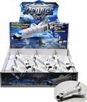 Vardem Oyuncak 51355 Çek-bırak 8inch Colombıa Uzay Mekiği Metal Oyuncak Uçak